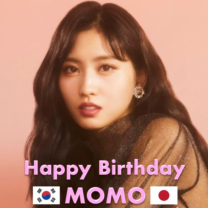 Happy Birthday to #TWICE 's beautiful main dancer and rapper #MOMO! #HappyMOMODay!   https://www. facebook.com/worldmusicawar ds/photos/a.310614765686310/2550357705045327/?type=3&theater   … <br>http://pic.twitter.com/sjwnWCffha