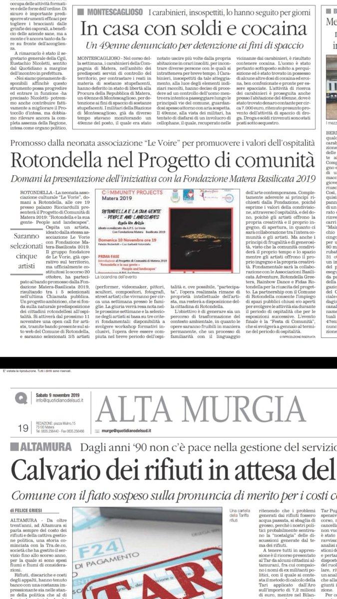 #Rotondella nel progetto di comunità di @Matera20...