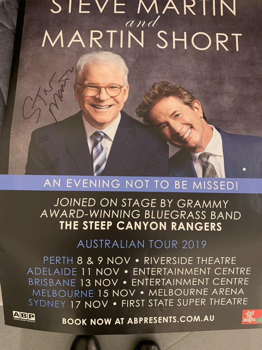 Marty and I are loving our Australian tour!