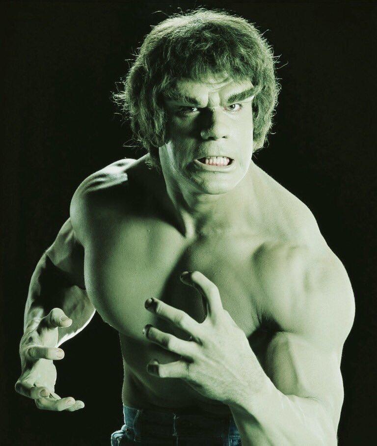 incredible hulk lou ferrigno - HD1200×1531
