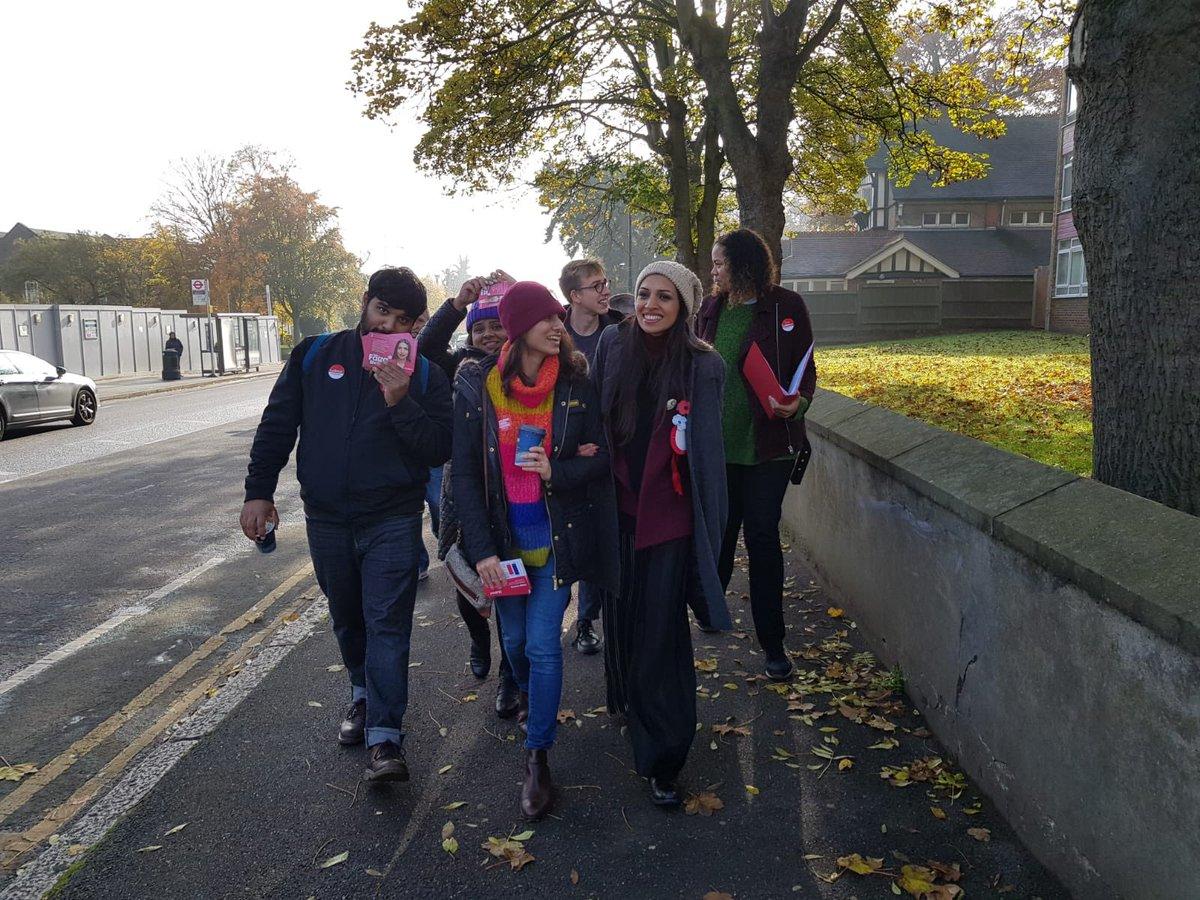 The weekend fun has begun! #labourdoorstep #ge2019 #votefaiza #votelabour #UnseatIDS