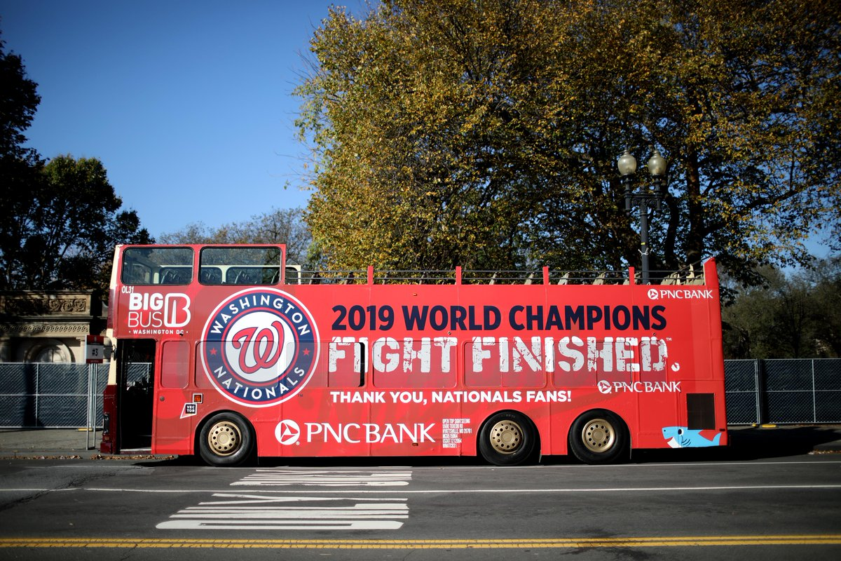 The only time weve been thrilled to be stuck in DC traffic... (Hard to believe its already been a week since the coolest day of our lives.) @PNCBank // #FIGHTFINISHED