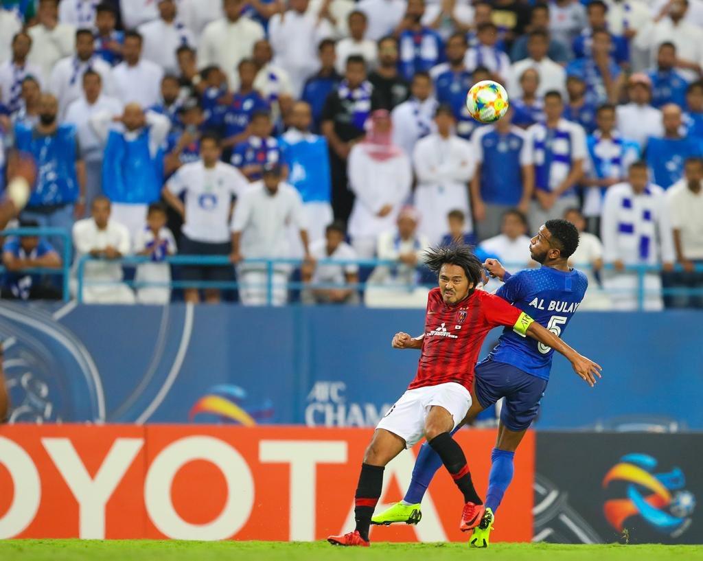 الهلال يكتفي بالفوز على اوراوا ريدز بهدف وحيد في ذهاب نهائي دوري أبطال آسيا