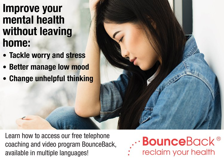 test Twitter Media - Feeling low? Stressed? Anxious? #BounceBackON can help, with support available in Cantonese or Mandarin. Visit https://t.co/ZpzCNPjxqP for more information. #mentalhealth https://t.co/Ff6fHoHIIK
