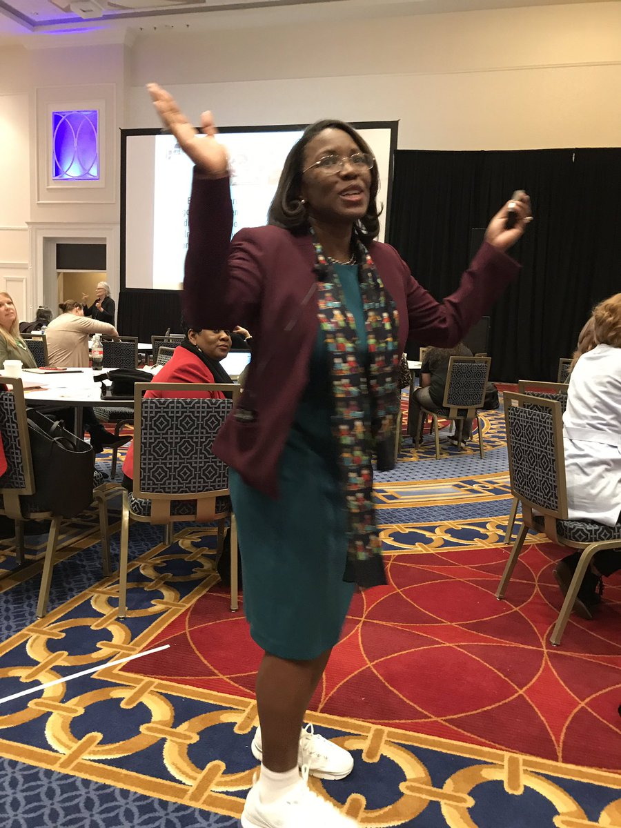 Being inspired by Dr. Tiffany Anderson @ASCDconf this morning!#ASCDCEL