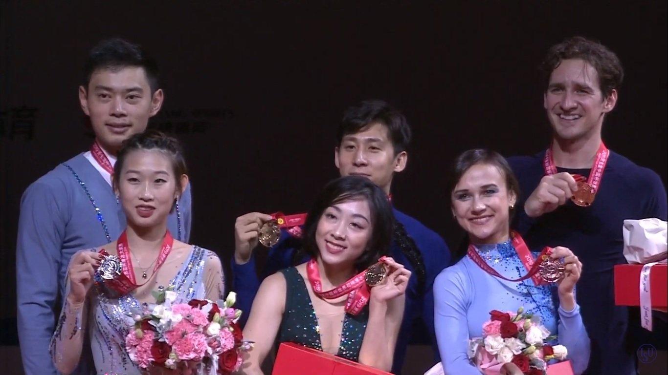 GP - 4 этап. Cup of China Chongqing / CHN November 8-10, 2019 - Страница 11 EI8EQCBXUAAX8Do?format=jpg&name=large