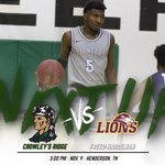 Image for the Tweet beginning: GAMEDAY! @CRCPioneerMBB takes on @gofhulions