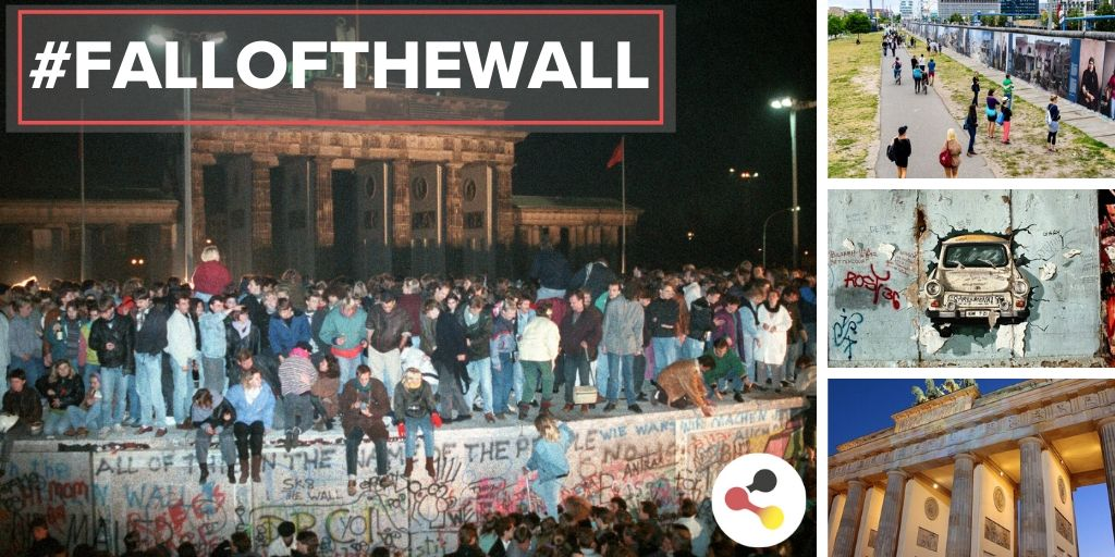 #OnThisDay in 1989, after the peaceful #revolution of the people in the #GDR, the inner-German border was opened after 28 years of division. We look back on an important event in #Germanhistory. #BerlinWall30 #FalloftheWall30 #BerlinWall #ColdWar 🇩🇪👉 ms.spr.ly/6015TTZRl