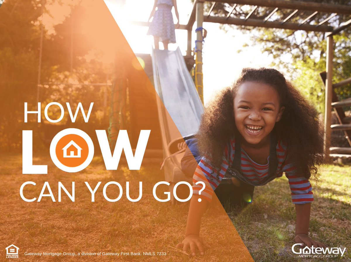 Rates are historically low! Find your local Loan Originator to talk refinacing and new home mortgage options: http://www.GatewayLoan.com/find-a-location/…pic.twitter.com/CoYDPpoxXx