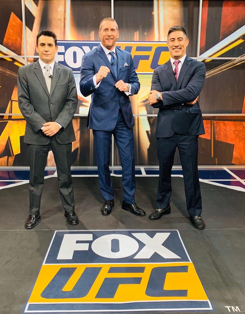 Arrancamos a las 11 #UFCxFOX #ProhibidoParpadear #UFCMoscow @SalasJiujitsu @mariodelgadorzm @ERIFERCA @FOXSportsMX