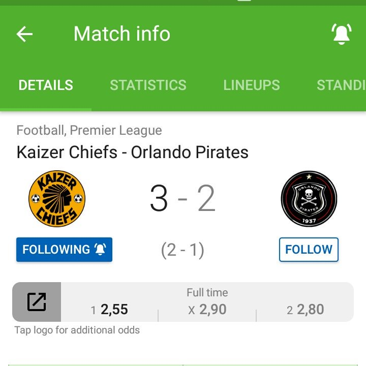 Dont say anything, just Retweet to Annoy Pirates fans 😂 #Amakhosi4Life #SowetoDerby