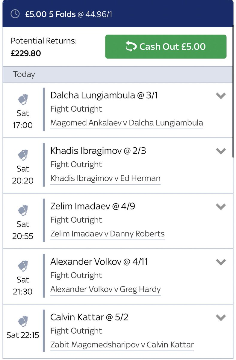 Let's see how this plays out... #UFCMoscow #UFC #skybet