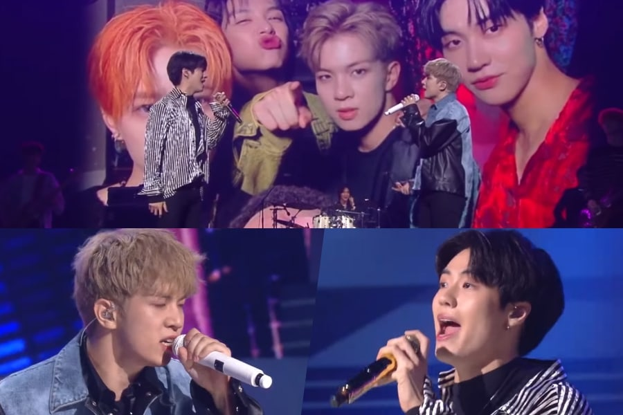 """WATCH: #NFlying Wins """"#ImmortalSongs"""" With Exciting Performance Celebrating Their Friendship  https://www. soompi.com/article/136457 7wpp/watch-n-flying-wins-immortal-songs-with-exciting-performance-celebrating-their-friendship  … <br>http://pic.twitter.com/7pKk55UKXs"""