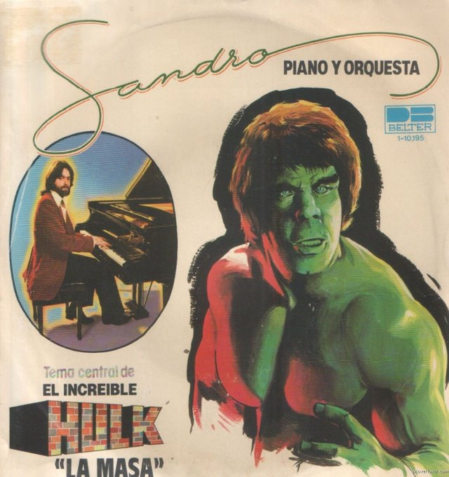 And a very happy birthday to Lou Ferrigno, 68 today!  Here\s his song: