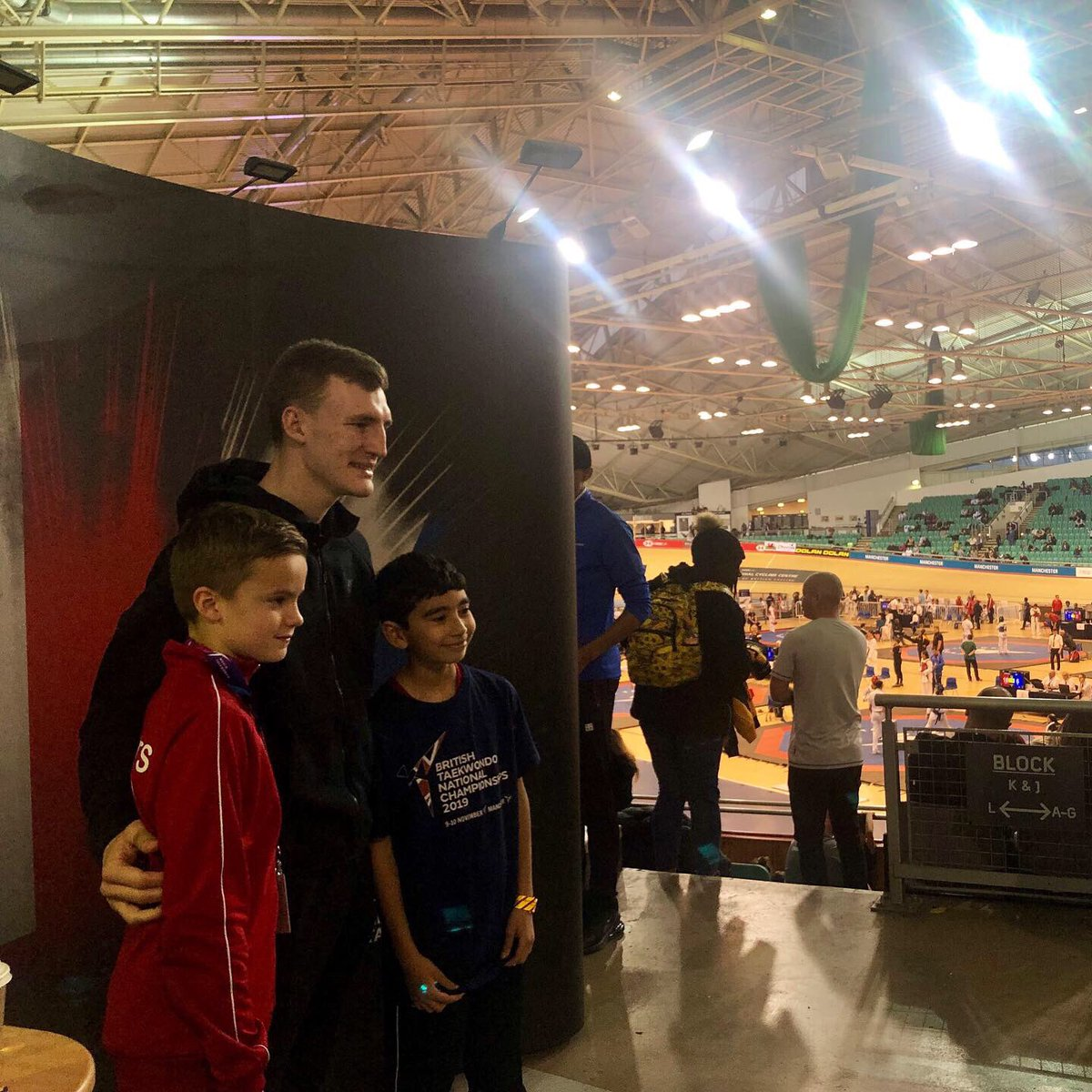 🥋| Huge thank you to all of the @gbtaekwondo athletes that came down to the Kyorugi National Championships for some meet and greets today 🇬🇧 #TaekwondoNationals2019