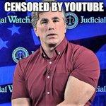 Image for the Tweet beginning: CENSORSHIP: @YouTube/@Google DELETES @JudicialWatch video