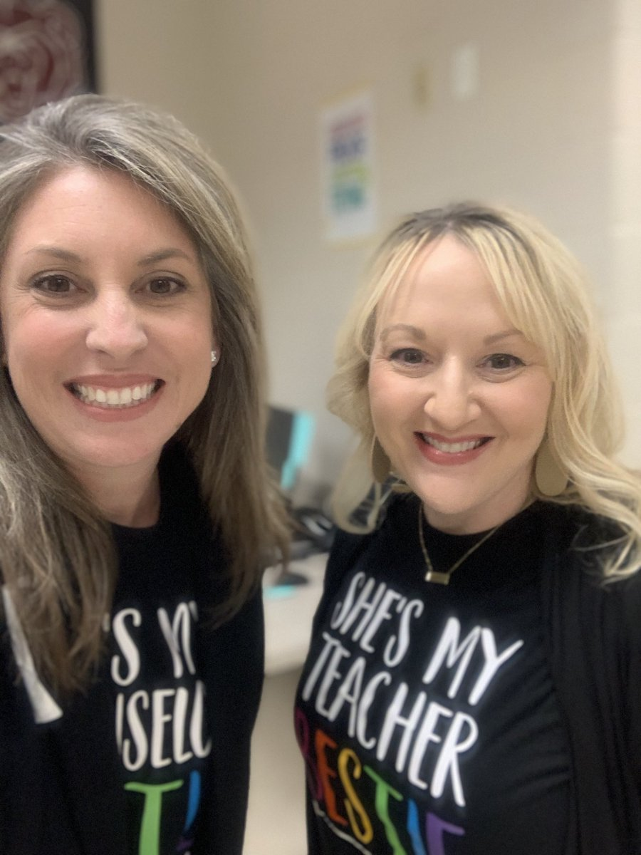 Was able to present with one of my teacher Besties today! What a great day of learning! #TLES19 #onewiththepack