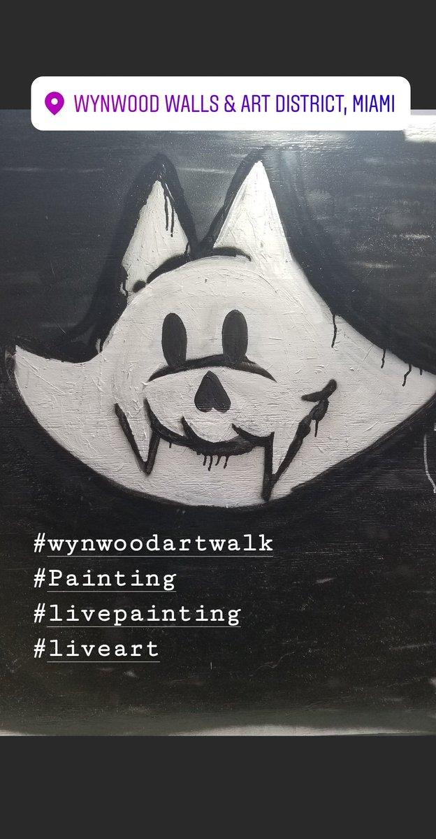 @WynwoodArtWalk  It's that time again! Live painting by @redskeee @ticoe  @thearthustla @m3ps @weerdo1994 @shawnchristopher.tattoos @lulukathulu @sesmxcl @babeonicplague69 @whateverchez @ktano_one @callmefeel1985 & more at the Artist's Pavilion at @artwalkwynwood pic.twitter.com/cj8GOwHyDD