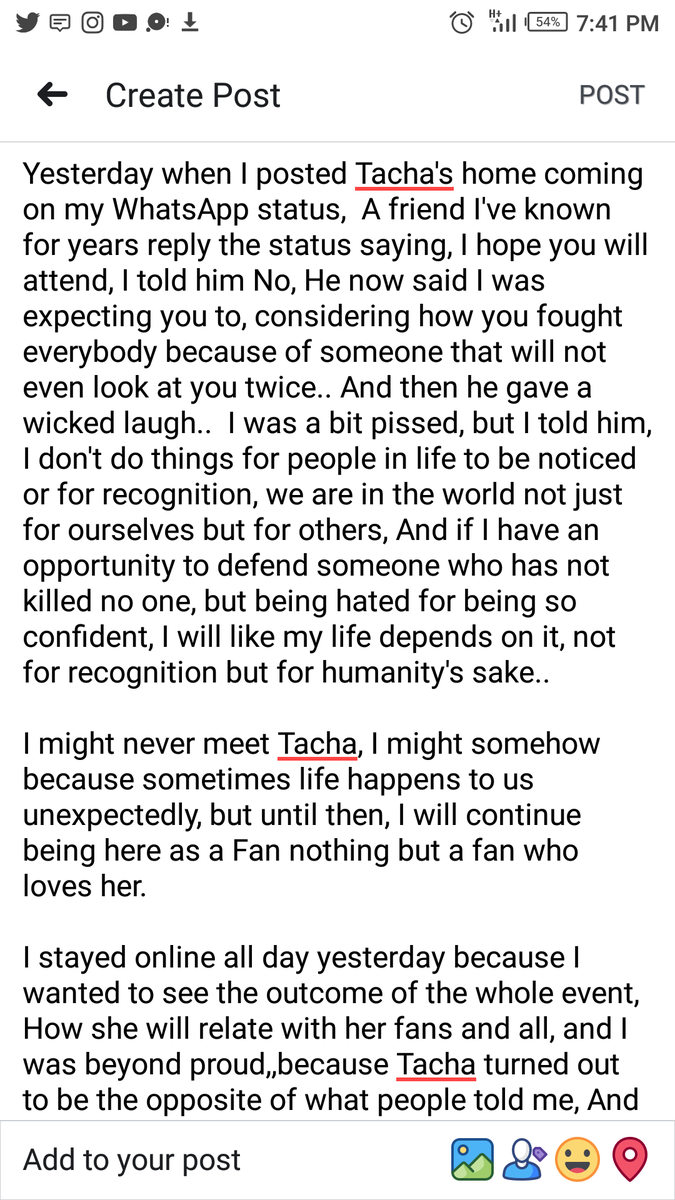 Dear Tacha this is for you and to Titans you guys are so Amazing and I'm proud to be one of you.. For the massive show of love on Tacha, Thank you #TachaHomecoming #TachaPHFirstDaughter #TachaStormsPH #TachaMeetsGovWike<br>http://pic.twitter.com/0wzgJ2ZTP4