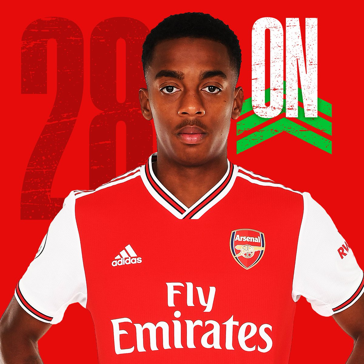 And a second change...🔛 Joe Willock↩️ Lucas Torreira🦊 2-0 🟡 (80)#LEIARS