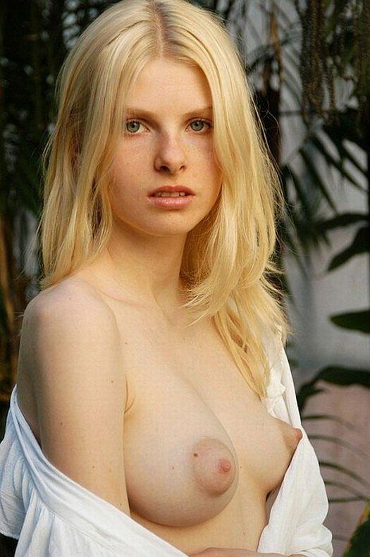 Blonde Pink Nipples