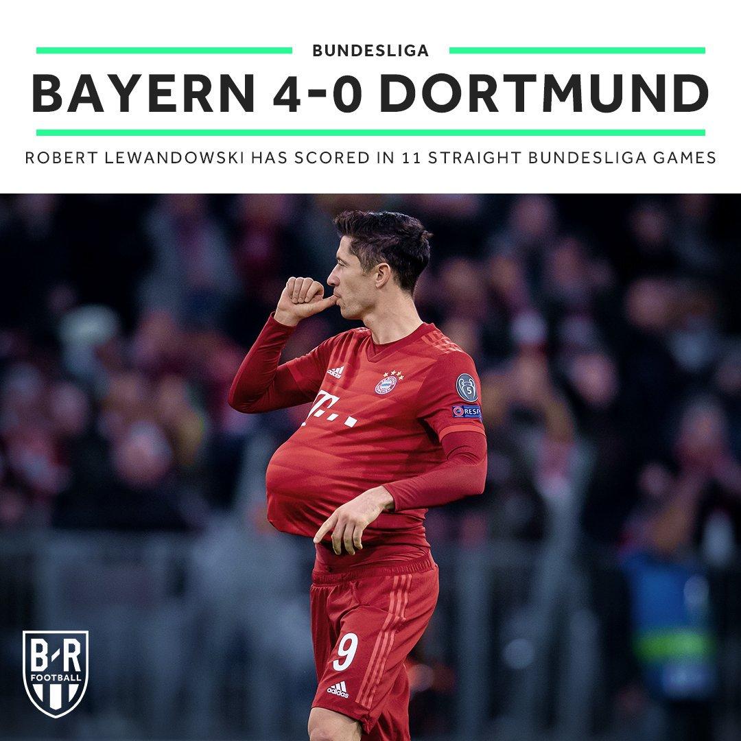 Bayern's last five Bundesliga games at home to Dortmund:  15/16:  16/17:  17/18:  18/19:  19/20:  <br>http://pic.twitter.com/YELI9y5W0n