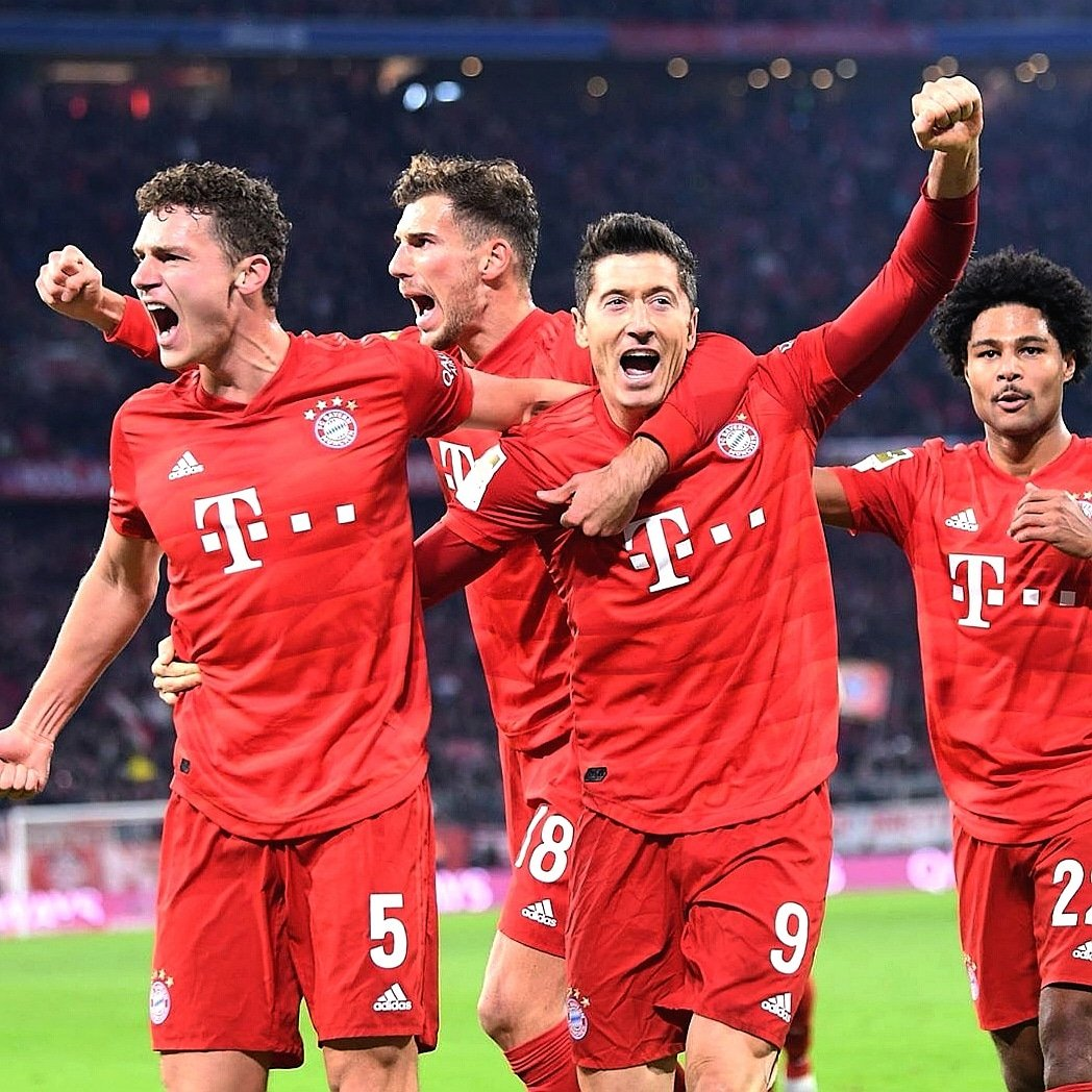It was a big game for us🔥💪 #teamwork @FCBayern ⚽⚽⚽⚽