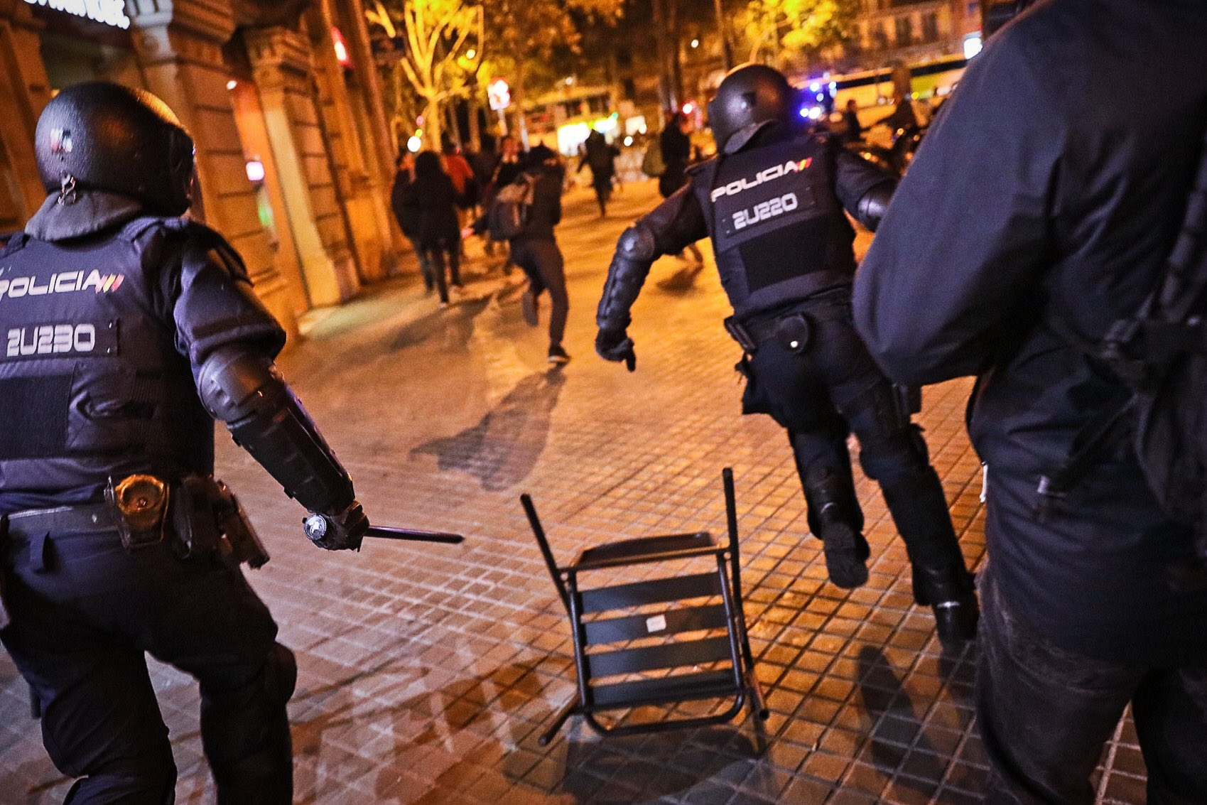 police barcelone