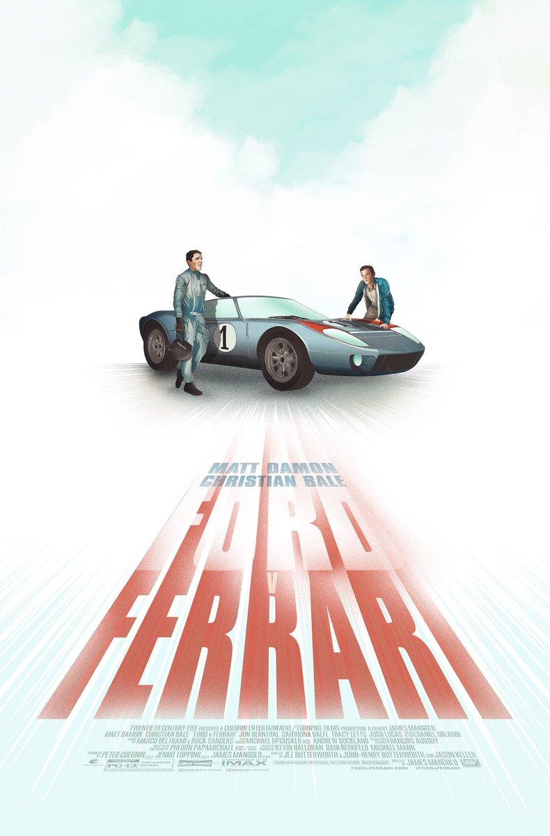 Ford Vs Ferrari Poster Imax