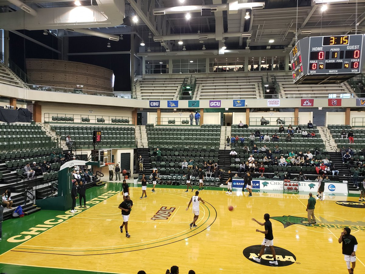 Arena #142 to complete the state of Illinois and kick off the 2019-20 #Mission351 campaign on the campus of @ChiStateCougars. Significantly nicer facilities than I expected. I'm impressed.