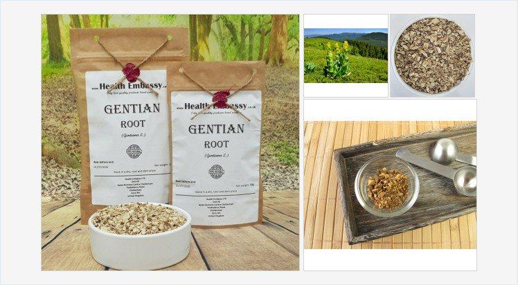 #GentianRoot #Gentiana #GentianRoottea #Gentian #Gentiantea #gentianherbaltea #organicgentain #HealthEmbassy #herbs #herbsonline #herbsuk #vegan #vegetarian #organic #natural #naturaltea #organictea #healthytea #herbaltea #tea #infusion #herbalremedy https://healthembassy.co.uk/en/roots/148-gentian-root-gentiana-l.html…