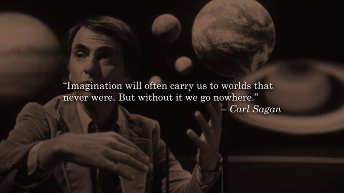 Happy Birthday, Carl Sagan.