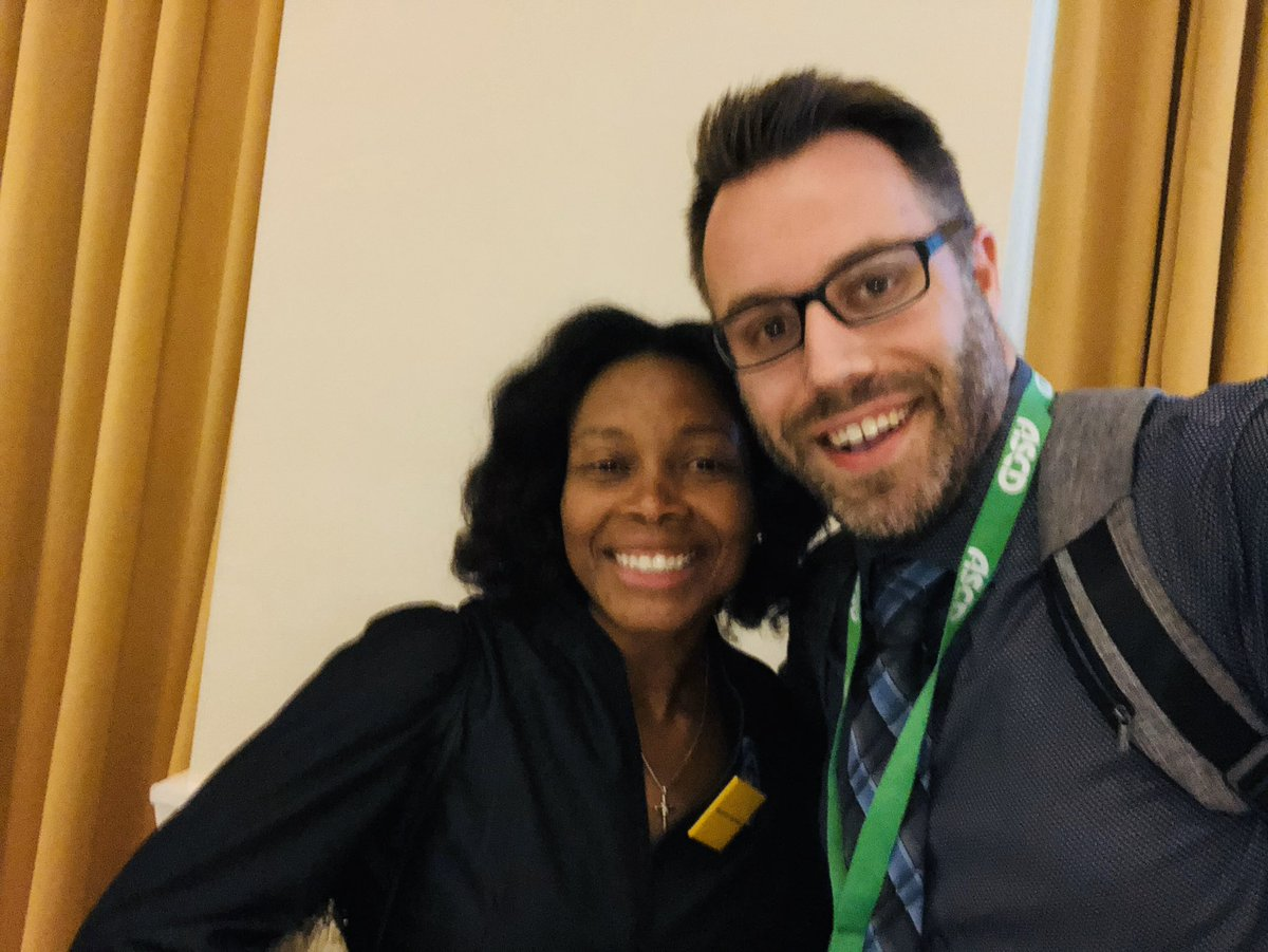 I've enjoyed the incorporation of more equity-focused sessions at #ASCDCEL, but I feel like few of them have had the clarity and sense of purpose that the one from  @drncgarrett @basil_marin & @JasonFlom had today. Thanks for pushing the room and for the brilliant work y'all do!<br>http://pic.twitter.com/POGgphGs3c