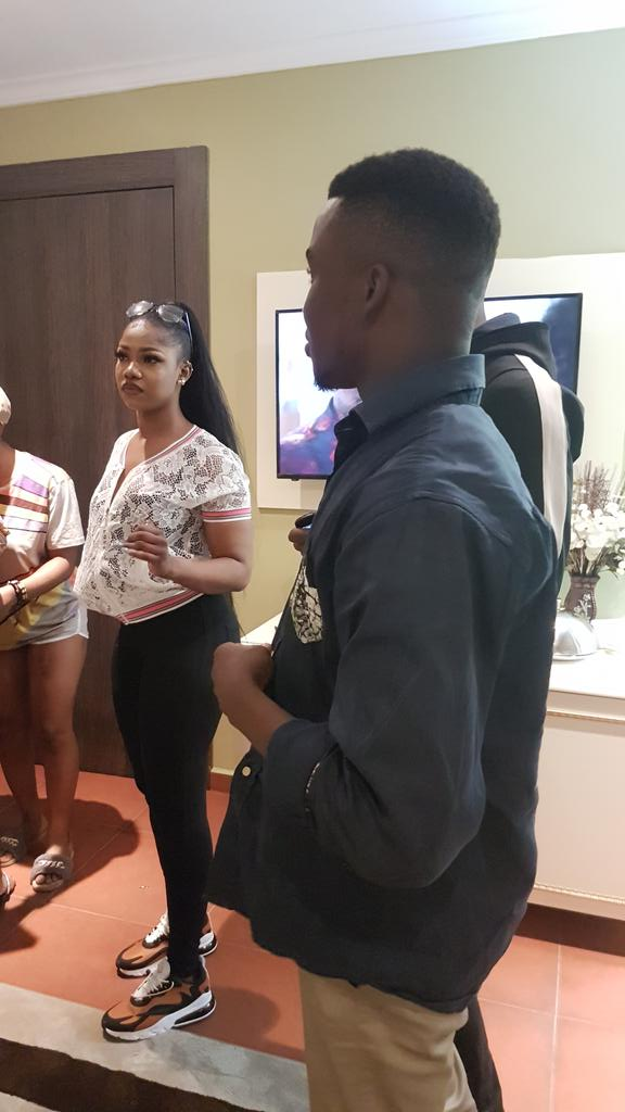 Same room with Tacha  sirdee enkay, my night is made titans send your shout out am reading them out to her #TachaMeetsGovWike #TachaHomecoming #TachaStormsPH <br>http://pic.twitter.com/GZ7SjCsFed