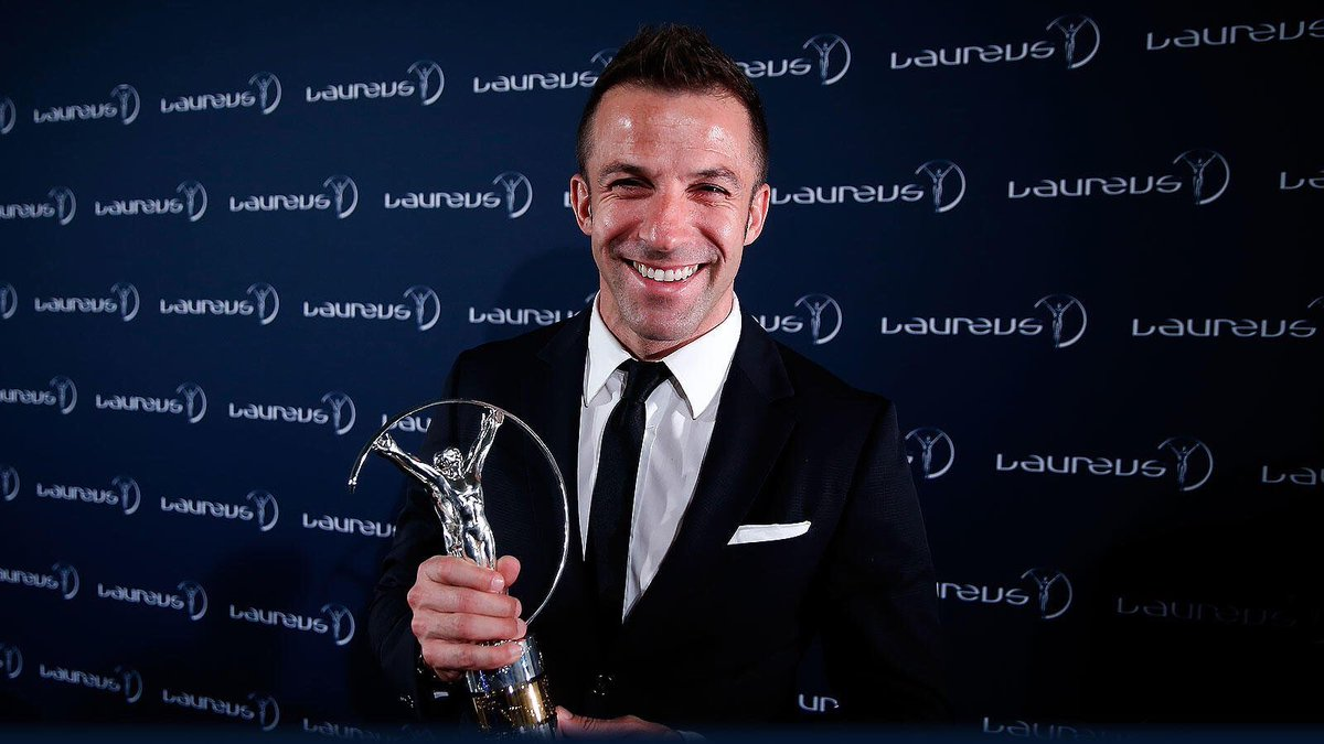 Wishing Laureus Academy member @delpieroale a very happy birthday 🎉  One of the greatest Italian players of all-time who lit up the beautiful game in Italy throughout the 1990s and 2000s  Buon compleanno 🥳
