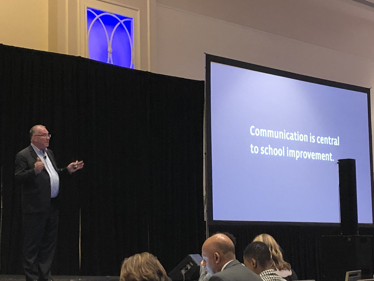 """""""Communication is central to school improvement."""" @jimknight99 @ASCDconf #ASCDCEL <br>http://pic.twitter.com/uPopCFnGif"""