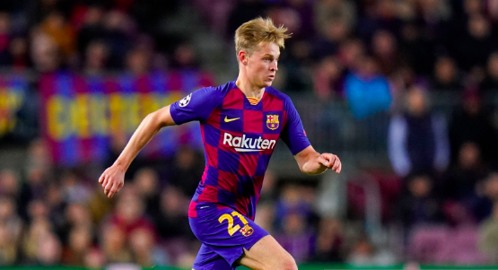 | What a game Frenkie had today,  How would you rate his performance?  #BarçaCelta