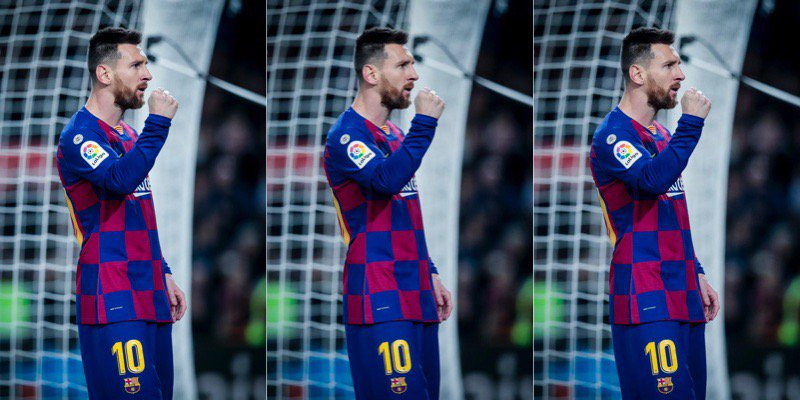 Lionel Messi !!!!!!!!????  Came as a dwarf, Set the standard even for the tallest of Men.  RESPECT ...!!!!!  #BarcaCelta   #Messi