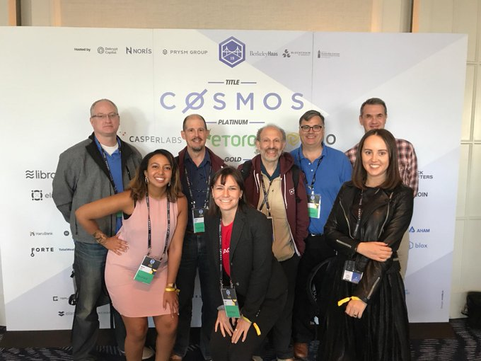 #Agoric Team at #CESC Day 1.