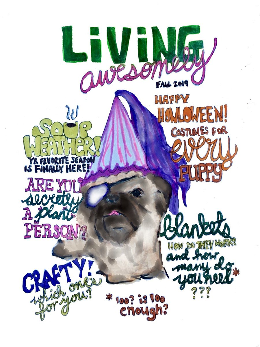 Replying to @tweetawesomely: Find the new fall issue of Living Awesomely magazine at your local newsstand today!