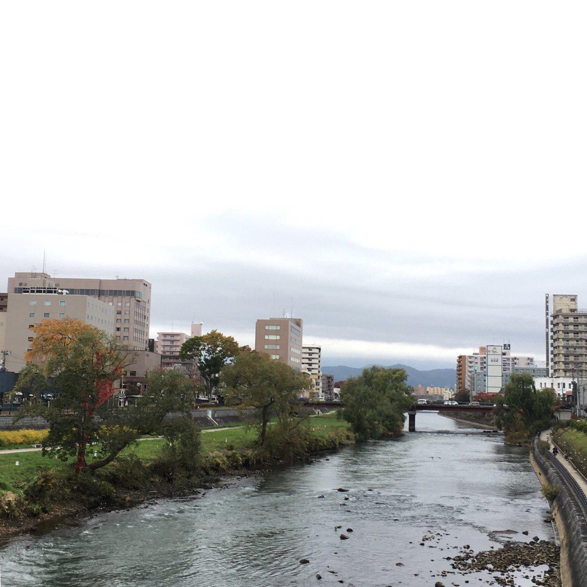2019/10/29 盛岡市の開運橋から撮影。みなさま、安全第一でお過ごしください。 #岩手 #盛岡 #北上川 #岩手においでよ