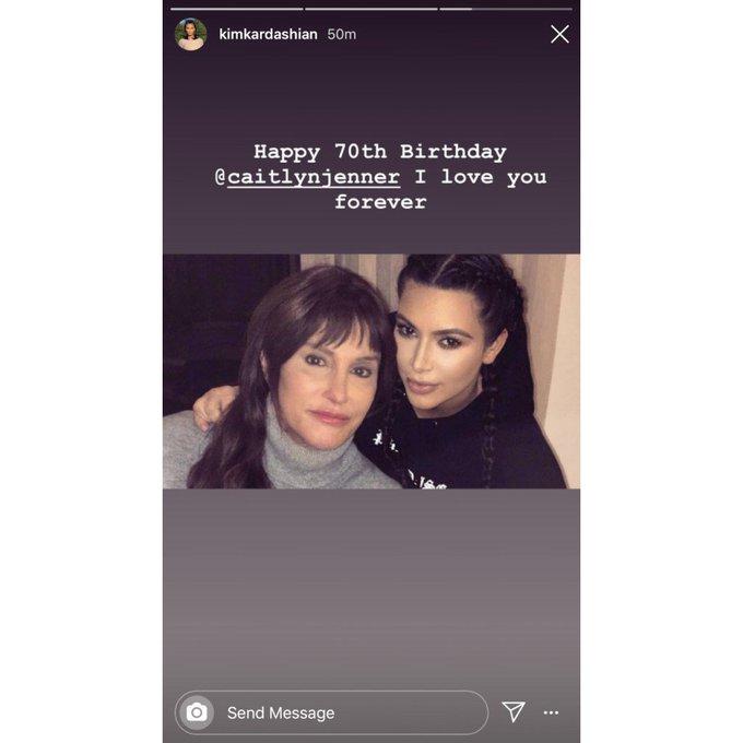 Kim Kardashian, Sisters Wish Caitlyn Jenner Happy Birthday Amid FamilyFeud