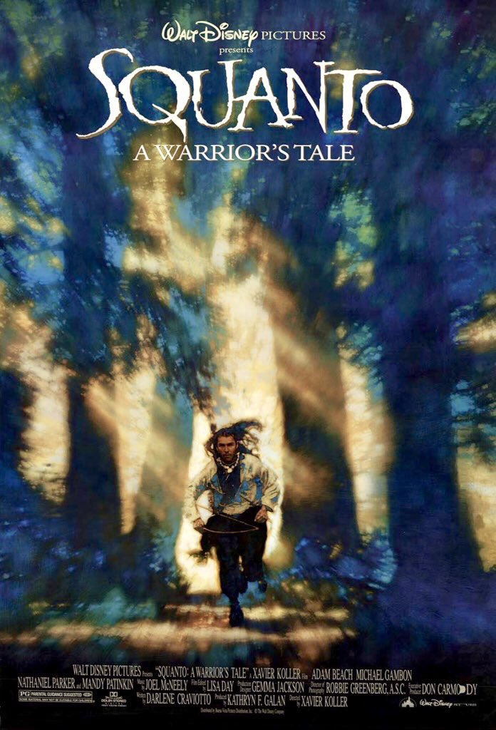 MOVIE HISTORY: 25 years ago today, October 28, 1994, the movie 'Squanto: A Warrior's Tale' opened in theaters!  #AdamBeach #SheldonPeters #IreneBedard #EricSchweig #LeroyPeltier #MichaelGambon #NathanielParker #AlexNorton #MarkMargolis #JulianRichings @PatinkinMandypic.twitter.com/8pwlAdQU5p