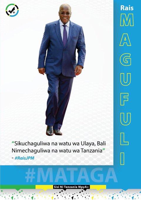 Happy Birthday Mr President ,Dr John Pombe Magufuli