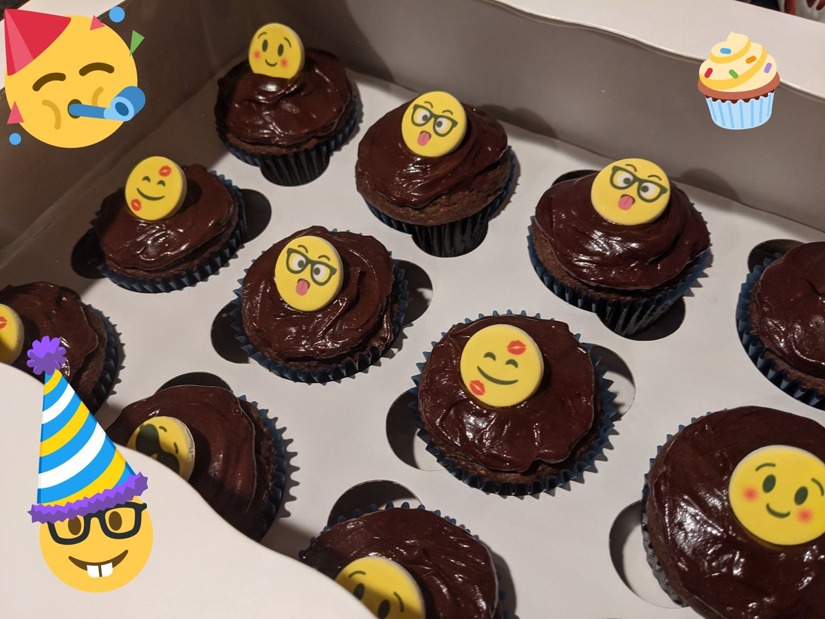 Will you be at @OCpubPD? We're celebrating!! #birthdaycupcakes