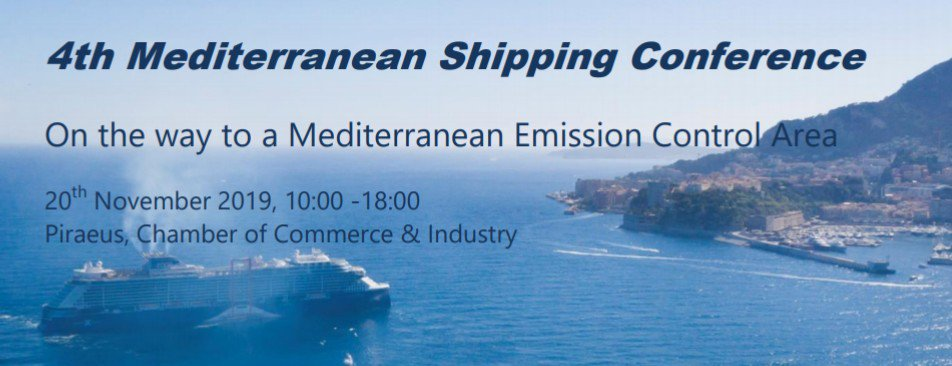 test Twitter Media - 🔴 Mediterranean Shipping Conference. 🗓️Nov 20th 2019. 📍 Piraeus, Greece.  On the way to a #MedECA!  ✔️ Programme and registration here 👉 https://t.co/xvSN5m4wRo https://t.co/99J9DW6Nps