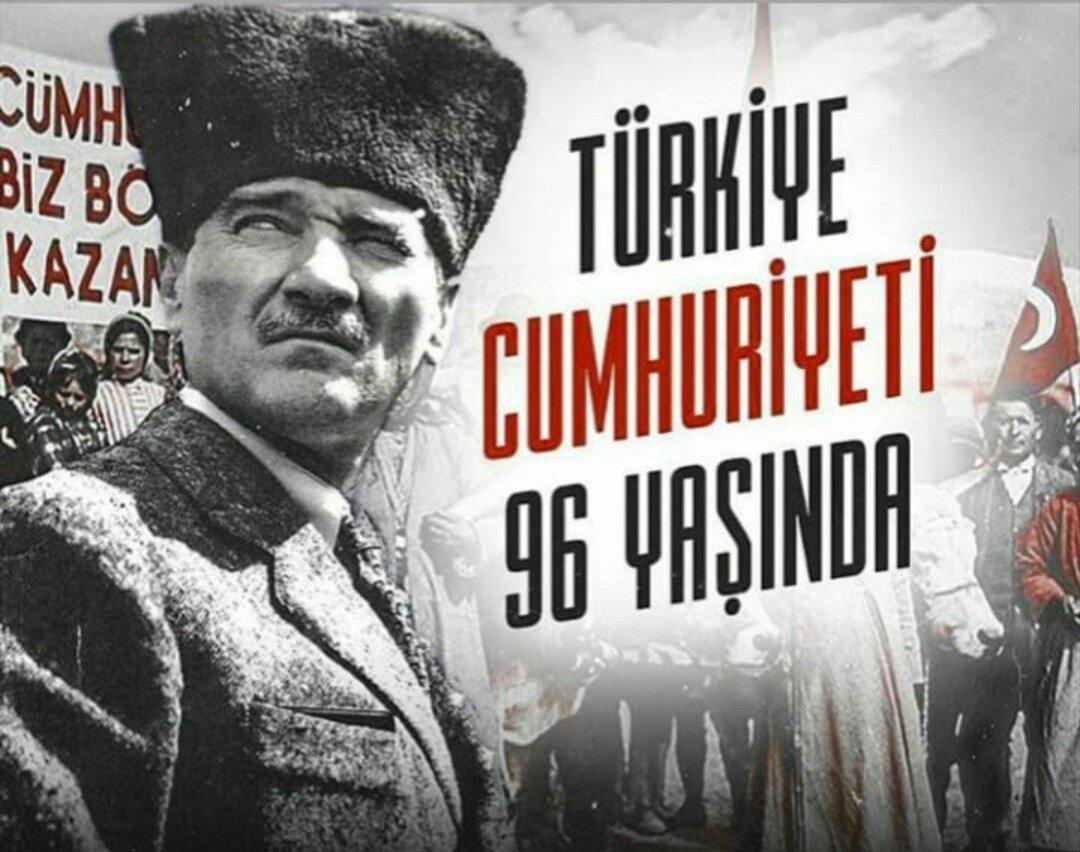 #29EkimCunhuriyetBayramı  kutlu olsun!