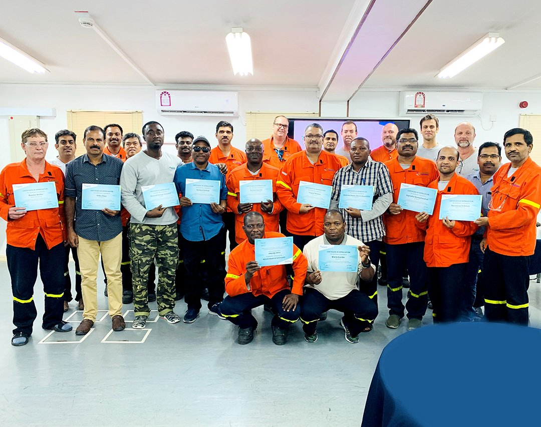 @Qatar_Aluminium employees from the @Casthoust Group took part in the 2nd Safety Delegates Workshop on the 3rd of October 2019. The workshop focused on what had been achieved by HSE and on achieving zero incidents. #qatalum #Qatar #QNV2030