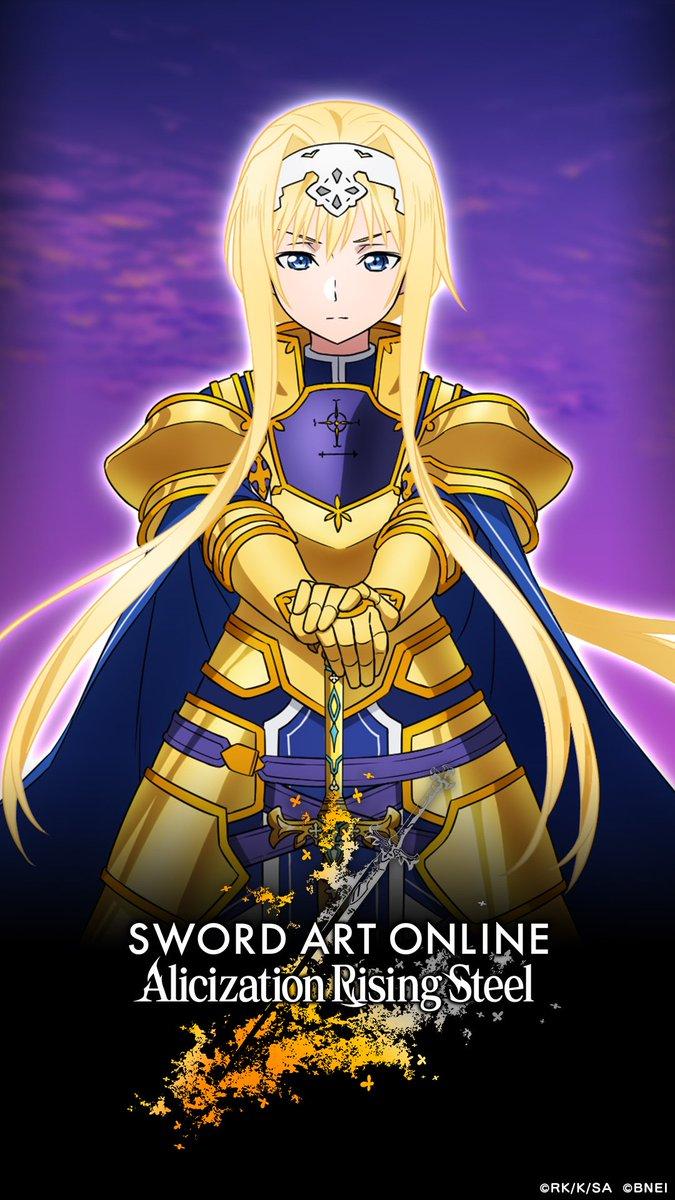Sword Art Online Alicization Rising Steel On Twitter The
