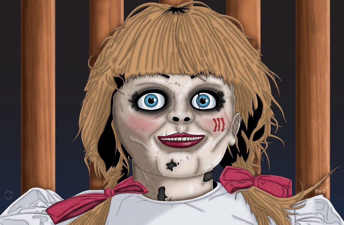 Day 20: Anabelle Comes Home. #art #MelissaSanchezArt #OctoberHorrorMovieMarathon #OHMM19 #AnabelleComesHome #Anabelle #TheConjuringUniverse #horror #HorrorArt #HorrorMovies #october #inktober #halloween #drawlloween #illustration #fanart #artistsontwitter https://t.co/x8aIgubj3R